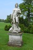 Steinstatue, Mottisfont-Abtei, Hampshire, England Stockfotografie