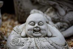 Steinstatue von Buddha Stockfoto