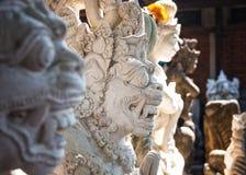 Steinstatuen, Denpasar, Bali, Indonesien lizenzfreie stockfotografie