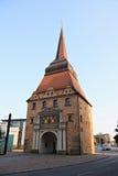 The Steintor In Rostock In Germany Stock Image