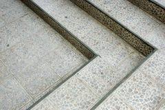 Steintreppen Stockfoto