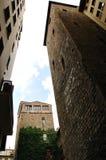 Steinturm Florenz-Verstärkung II, Toskana, es Stockbild