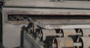 Steinverarbeitungsvollenden stock video