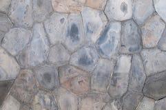 Steinwände. Lizenzfreies Stockbild