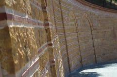 Steinwände - Aegina, Griechenland Lizenzfreie Stockfotografie