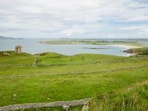 Steinwände auf den Küstengebieten nahe Maghery, Donegal Lizenzfreies Stockbild