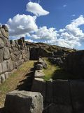 Steinwände Inka in Cusco Lizenzfreies Stockfoto