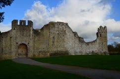 Steinwände von Desmond Castle in Adare Irland Lizenzfreie Stockfotografie