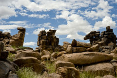 Steinwüste in Namibia Stockbilder