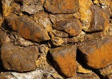Steinwand Lizenzfreies Stockbild