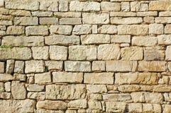 Steinwand Stockbild