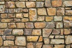 Steinwand. Lizenzfreies Stockfoto
