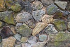 Steinwand auf Block-Insel Stockfoto