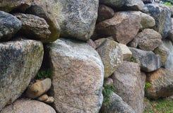 Steinwand auf Block-Insel 5 Stockbilder