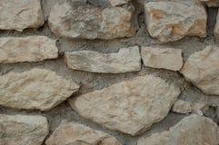 Steinwand, ausführliche Ansicht Lizenzfreie Stockfotos