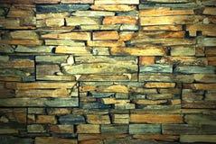 Steinwand backgound Lizenzfreies Stockbild