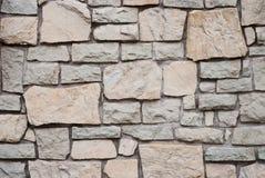 Steinwand backgrond Stockbilder