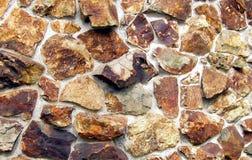 Steinwand-Beschaffenheit Stockfotografie