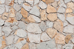 Steinwand-Beschaffenheit Lizenzfreies Stockfoto