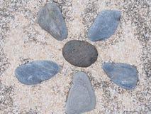 Steinwand-Beschaffenheitsfoto Stockbild