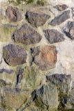 Steinwand-Beschaffenheitsmuster, Felsen Nahaufnahme, Hintergrund lizenzfreie stockbilder