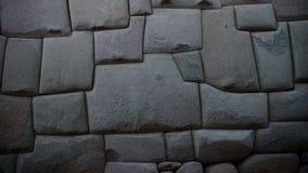 Steinwand des alten Inkas in der Stadt von Cusco, Peru lizenzfreie stockbilder
