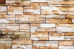 Steinwand des alten Ziegelsteines Stockbilder