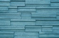 Steinwand des blauen Grüns Stockbilder
