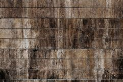 Steinwand des rauen alten Kontrastes stockbild