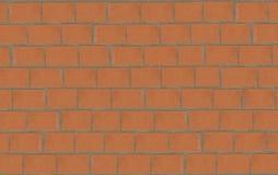 Steinwand des roten Backsteins Stockbild