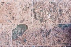 Steinwand des vulkanischen Basalts als Beschaffenheit Lizenzfreies Stockfoto