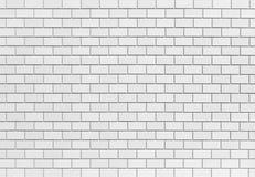 Steinwand des weißen Ziegelsteines Stockfotografie