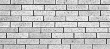 Steinwand des weißen Ziegelsteines Stockbild