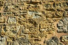 Steinwand-Hintergrund lizenzfreies stockfoto