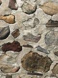 Steinwand-Hintergrund Steine in den Weg gelegte Grundlage Stockfotos