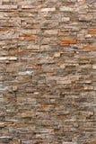 Steinwand-Hintergrund, vertikales Muster Stockfoto