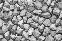 Steinwand im Detail als Hintergrund Stockfotos