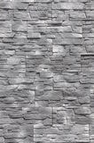 Steinwand mit grauen Blöcken Stockfotos