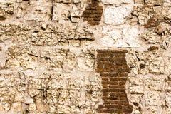 Steinwand mit grauer Farbe des wirklichen Musters des dekorativen ungleichen gebrochenen Oberflächenzementes des modernen Artdesi Stockfotos
