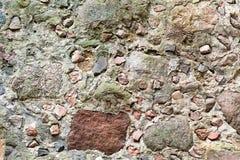 Steinwand mit grauer Farbe des wirklichen Musters des dekorativen ungleichen gebrochenen Oberflächenzementes des modernen Artdesi Lizenzfreies Stockbild