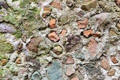Steinwand mit grauer Farbe des wirklichen Musters des dekorativen ungleichen gebrochenen Oberflächenzementes des modernen Artdesi Lizenzfreie Stockfotografie