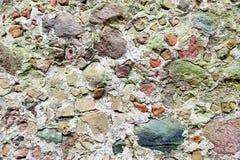 Steinwand mit grauer Farbe des wirklichen Musters des dekorativen ungleichen gebrochenen Oberflächenzementes des modernen Artdesi Lizenzfreies Stockfoto