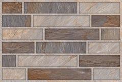 Steinwand-Muster-Zusammenfassungs-Hintergrund nahtlos Lizenzfreie Stockfotografie