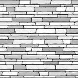 Steinwand. Nahtloser Vektor. Stockbild