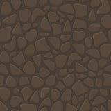Steinwand-nahtloses Muster Lizenzfreies Stockbild