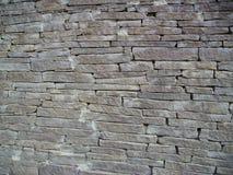 Steinwand Puebloan Lizenzfreie Stockbilder