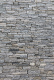 Steinwand - vertikaler Aspekt lizenzfreies stockbild