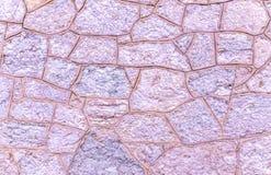 Steinwandabschluß oben Lizenzfreie Stockfotografie
