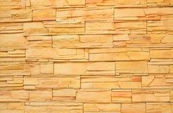 Steinwandbeschaffenheit und -hintergrund Lizenzfreies Stockbild