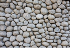 Steinwandbeschaffenheit vom Fluss Stockfoto